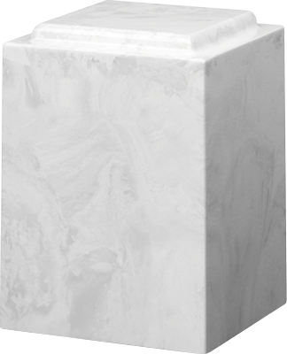 White Carrera Windsor Urn