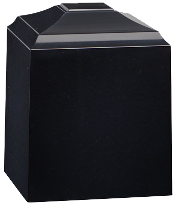 Black Night Keepsake Medium Urn